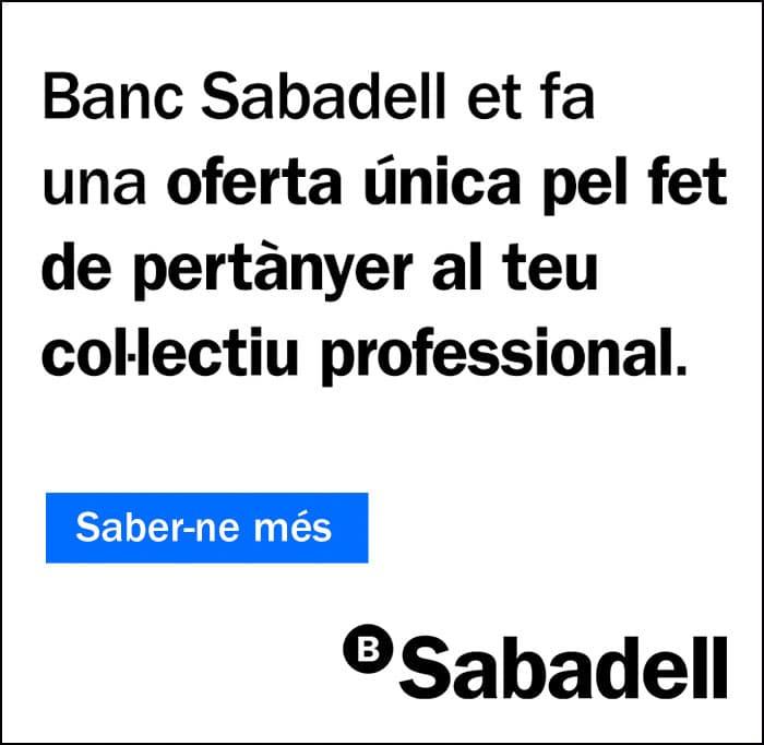 Banc de Sabadell et fa una oferta única